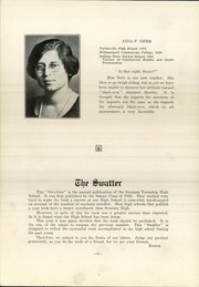 Page 8, 1923 Edition, Swatara High School - Yearbook (Oberlin, PA) online yearbook collection