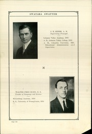 Page 10, 1924 Edition, Swatara High School - Yearbook (Oberlin, PA) online yearbook collection