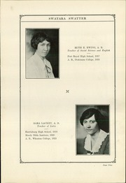 Page 13, 1924 Edition, Swatara High School - Yearbook (Oberlin, PA) online yearbook collection