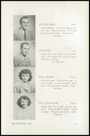 Page 17, 1949 Edition, Swatara High School - Yearbook (Oberlin, PA) online yearbook collection