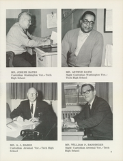 Page 13, 1967 Edition, Arsenal Washington Vocational Technical High School - Cavalier Yearbook (Pittsburgh, PA) online yearbook collection