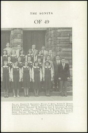 Page 15, 1949 Edition, St Agnes High School - Agnita Yearbook (West Chester, PA) online yearbook collection