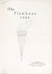 Page 5, 1944 Edition, Sandy Township High School - Flambeau Yearbook (Du Bois, PA) online yearbook collection