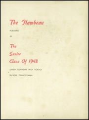 Page 7, 1948 Edition, Sandy Township High School - Flambeau Yearbook (Du Bois, PA) online yearbook collection