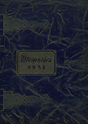 1951 Edition, Harter High School - Memories Yearbook (West Nanticoke, PA)