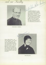 Page 11, 1957 Edition, St John the Baptist High School - Campanile Yearbook (Pittsburgh, PA) online yearbook collection