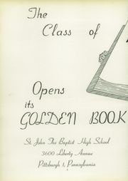 Page 6, 1957 Edition, St John the Baptist High School - Campanile Yearbook (Pittsburgh, PA) online yearbook collection