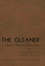 Page 1, 1937 Edition, Shinglehouse High School - Gleaner Yearbook (Shinglehouse, PA) online yearbook collection