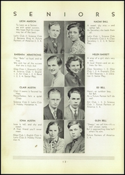 Page 14, 1937 Edition, Shinglehouse High School - Gleaner Yearbook (Shinglehouse, PA) online yearbook collection