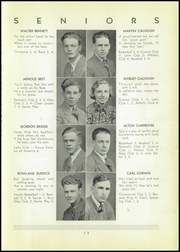 Page 15, 1937 Edition, Shinglehouse High School - Gleaner Yearbook (Shinglehouse, PA) online yearbook collection