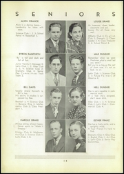 Page 16, 1937 Edition, Shinglehouse High School - Gleaner Yearbook (Shinglehouse, PA) online yearbook collection