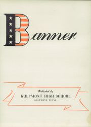 Page 7, 1945 Edition, Kulpmont High School - Banner Yearbook (Kulpmont, PA) online yearbook collection