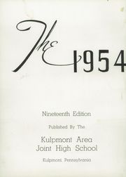 Page 6, 1954 Edition, Kulpmont High School - Banner Yearbook (Kulpmont, PA) online yearbook collection