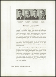 Page 16, 1940 Edition, East Bethlehem Township High School - Annual Yearbook (Fredericktown, PA) online yearbook collection