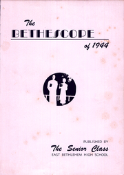 Page 5, 1944 Edition, East Bethlehem Township High School - Annual Yearbook (Fredericktown, PA) online yearbook collection