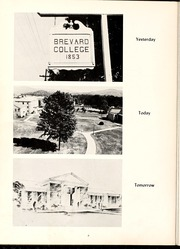 Page 10, 1956 Edition, Brevard College - Pertelote Yearbook (Brevard, NC) online yearbook collection