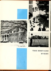 Page 12, 1962 Edition, Brevard College - Pertelote Yearbook (Brevard, NC) online yearbook collection