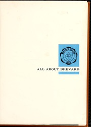 Page 5, 1962 Edition, Brevard College - Pertelote Yearbook (Brevard, NC) online yearbook collection