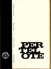 Page 5, 1966 Edition, Brevard College - Pertelote Yearbook (Brevard, NC) online yearbook collection