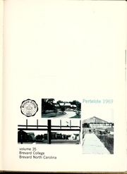 Page 5, 1969 Edition, Brevard College - Pertelote Yearbook (Brevard, NC) online yearbook collection