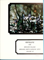 Page 5, 1976 Edition, Brevard College - Pertelote Yearbook (Brevard, NC) online yearbook collection