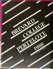 Page 2, 1988 Edition, Brevard College - Pertelote Yearbook (Brevard, NC) online yearbook collection