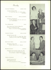 Page 15, 1950 Edition, Sell Perk High School - SPhere Yearbook (Perkasie, PA) online yearbook collection