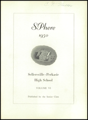 Page 5, 1950 Edition, Sell Perk High School - SPhere Yearbook (Perkasie, PA) online yearbook collection