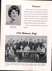 Page 8, 1964 Edition, Perry Joint High School - Mahonian Yearbook (New Bloomfield, PA) online yearbook collection