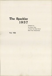 Page 5, 1937 Edition, North York High School - Panther Yearbook (North York, PA) online yearbook collection