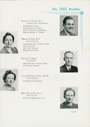 Page 17, 1945 Edition, North York High School - Panther Yearbook (North York, PA) online yearbook collection