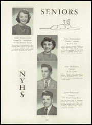Page 20, 1949 Edition, North York High School - Panther Yearbook (North York, PA) online yearbook collection