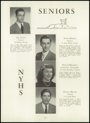 Page 26, 1949 Edition, North York High School - Panther Yearbook (North York, PA) online yearbook collection