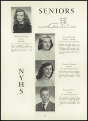 Page 28, 1949 Edition, North York High School - Panther Yearbook (North York, PA) online yearbook collection