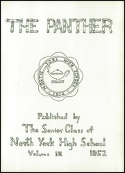 Page 5, 1952 Edition, North York High School - Panther Yearbook (North York, PA) online yearbook collection