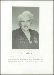 Page 7, 1952 Edition, North York High School - Panther Yearbook (North York, PA) online yearbook collection