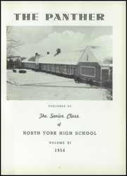 Page 5, 1954 Edition, North York High School - Panther Yearbook (North York, PA) online yearbook collection