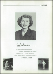 Page 9, 1954 Edition, North York High School - Panther Yearbook (North York, PA) online yearbook collection