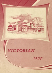 Victory Joint High School - Victorian Yearbook (Clintonville, PA) online yearbook collection, 1958 Edition, Page 1