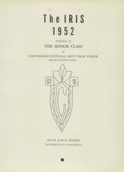 Page 7, 1952 Edition, Conyngham Centralia Joint High School - Iris Yearbook (Aristes, PA) online yearbook collection