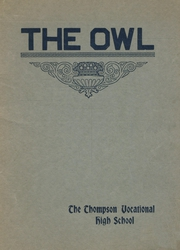 1931 Edition, Thompson Vocational High School - Owl Yearbook (Thompson, PA)