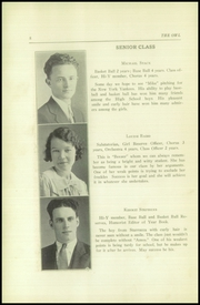 Page 10, 1934 Edition, Thompson Vocational High School - Owl Yearbook (Thompson, PA) online yearbook collection