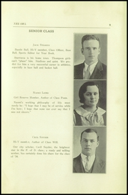 Page 11, 1934 Edition, Thompson Vocational High School - Owl Yearbook (Thompson, PA) online yearbook collection