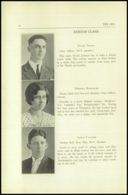 Page 12, 1934 Edition, Thompson Vocational High School - Owl Yearbook (Thompson, PA) online yearbook collection