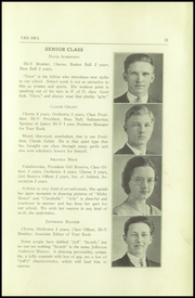 Page 13, 1934 Edition, Thompson Vocational High School - Owl Yearbook (Thompson, PA) online yearbook collection