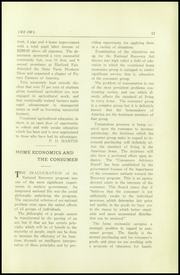 Page 15, 1934 Edition, Thompson Vocational High School - Owl Yearbook (Thompson, PA) online yearbook collection