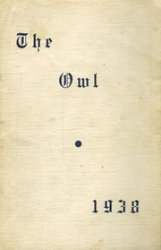 Page 1, 1938 Edition, Thompson Vocational High School - Owl Yearbook (Thompson, PA) online yearbook collection