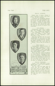 Page 10, 1938 Edition, Thompson Vocational High School - Owl Yearbook (Thompson, PA) online yearbook collection