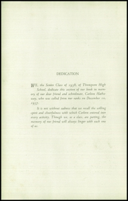 Page 4, 1938 Edition, Thompson Vocational High School - Owl Yearbook (Thompson, PA) online yearbook collection