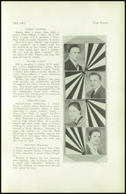 Page 13, 1939 Edition, Thompson Vocational High School - Owl Yearbook (Thompson, PA) online yearbook collection